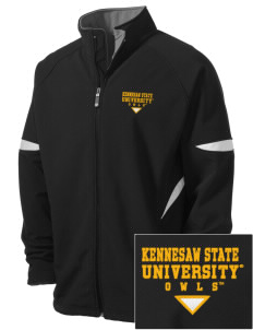 Kennesaw State University Owls Holloway Embroidered Men's Radius Zip Front Jacket
