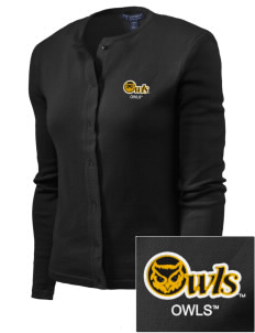 Kennesaw State University Owls Embroidered Women's Cardigan Sweater