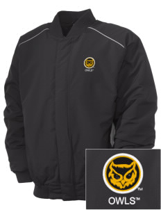 Kennesaw State University Owls Embroidered Russell Men's Baseball Jacket