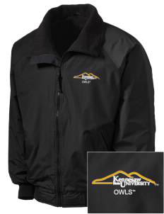 Kennesaw State University Owls Embroidered Men's Fleece-Lined Jacket