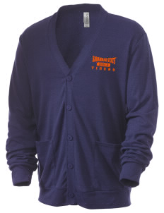 Savannah State University Tigers Men's 5.6 oz Triblend Cardigan