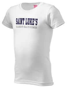 Saint Luke's College   COLLEGE  Girl's Fine Jersey Longer Length T-Shirt