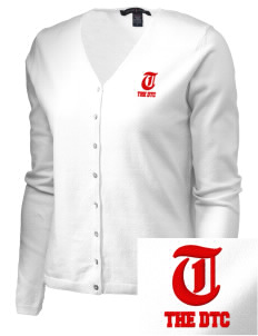 The DTC The DTC Embroidered Women's Stretch Cardigan Sweater