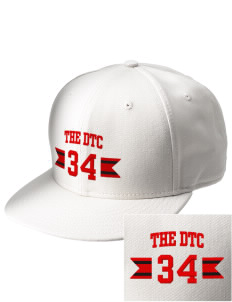 The DTC The DTC  Embroidered New Era Flat Bill Snapback Cap