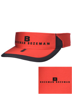 Bozeman Bozeman Embroidered M2 Sideline Adjustable Visor
