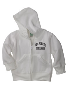 Del Puerto High School Bulldogs Baby Full Zip Hoodie