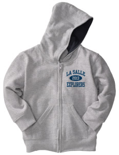 La Salle University Explorers Toddler Full Zip Hoodie