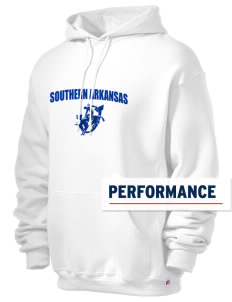 Southern Arkansas University Muleriders Russell Men's Dri-Power Hooded Sweatshirt