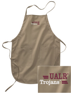 University of Arkansas at Little Rock Trojans Embroidered Full Length Apron