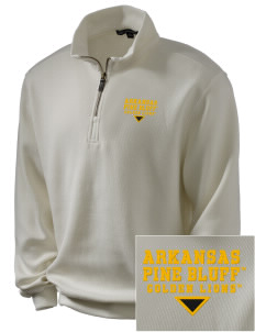 University of Arkansas Pine Bluff Golden Lions Embroidered Men's 1/4-Zip Sweatshirt