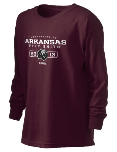 University of Arkansas - Fort Smith Lions Kid's 6.1 oz Long Sleeve Ultra Cotton T-Shirt