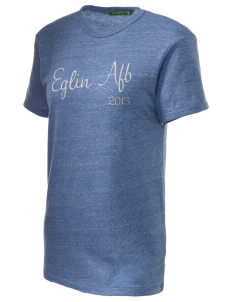 Eglin AFB Embroidered Alternative Unisex Eco Heather T-Shirt