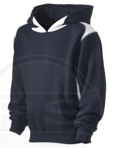 Kirtland AFB Kid's Pullover Hooded Sweatshirt with Contrast Color