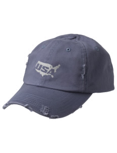 Ellsworth AFB Embroidered Distressed Cap