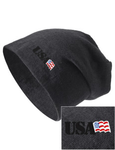 Anniston Army Depot Embroidered Slouch Beanie