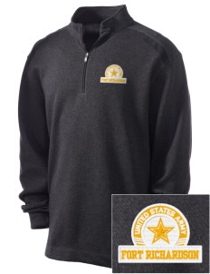 Fort Richardson Embroidered Nike Men's Golf Heather Cover Up