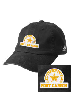 Fort Carson Embroidered adidas Relaxed Cresting Cap
