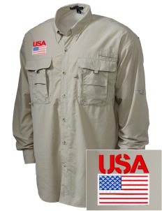 Aberdeen Proving Ground Embroidered Men's Explorer Shirt with Pockets
