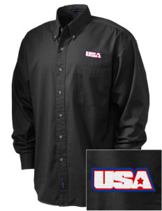 Aberdeen Proving Ground Embroidered Men's Twill Shirt