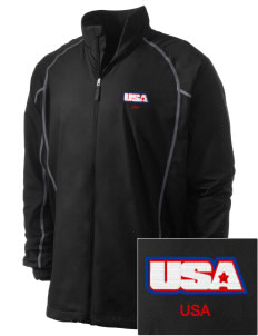 Fort Belvoir Embroidered Men's Nike Golf Full Zip Wind Jacket