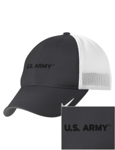 Fort Belvoir Embroidered Nike Golf Mesh Back Cap