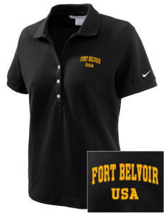 Fort Belvoir Embroidered Nike Women's Pique Golf Polo