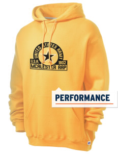 Mcalester Army Ammunition Plant Russell Men's Dri-Power Hooded Sweatshirt