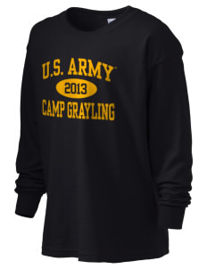 Camp Grayling Kid's 6.1 oz Long Sleeve Ultra Cotton T-Shirt