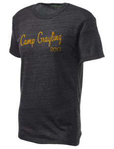 Camp Grayling Embroidered Alternative Unisex Eco Heather T-Shirt