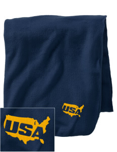 Seneca Army Depot Embroidered Holloway Stadium Fleece Blanket