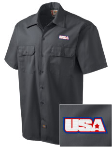 Dugway Proving Grounds Embroidered Dickies Men's Short-Sleeve Workshirt