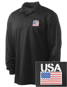 Bamberg Embroidered Men's Long Sleeve Micropique Sport-Wick Sport Shirt