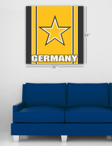 "Bamberg Wall Poster Decal 36"" x 36"""
