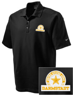 Darmstadt Embroidered Nike Men's Dri-FIT Pique II Golf Polo