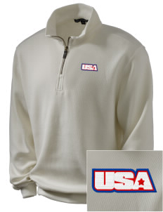 Kaiserslautern Embroidered Men's 1/4-Zip Sweatshirt