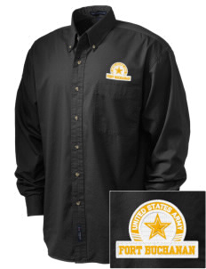 Fort Buchanan Embroidered Men's Twill Shirt