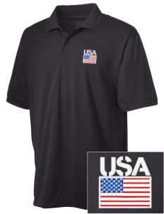 Camp Humphreys Embroidered Men's Micro Pique Polo