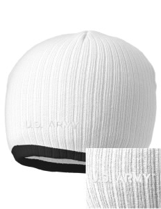 Camp Humphreys Embroidered Champion Striped Knit Beanie