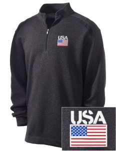 Camp Red Cloud Embroidered Nike Men's Golf Heather Cover Up