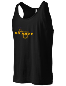 Winter Harbor Naval Security Group Activity Men's Jersey Tank