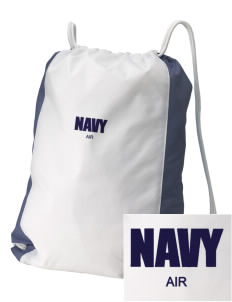 Corpus Christi Naval Air Station Embroidered Holloway Home and Away Cinch Bag