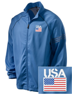 Bremerton Naval Station Embroidered adidas Men's ClimaProof Jacket