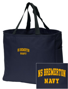Bremerton Naval Station Embroidered Essential Tote