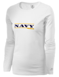 Diego Garcia Atoll Navy Support Facility  Russell Women's Long Sleeve Campus T-Shirt