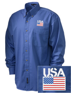 Clearwater CG Air Station Embroidered Tall Men's Twill Shirt