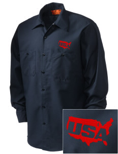 Miami CG Air Station Embroidered Men's Industrial Work Shirt - Regular
