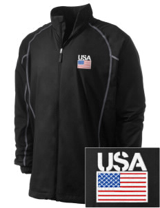 Yorktown CG Reserve Training Center Embroidered Men's Nike Golf Full Zip Wind Jacket