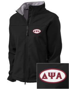 Delta Psi Alpha Embroidered Women's Glacier Soft Shell Jacket