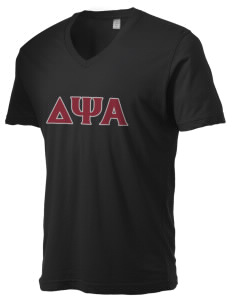Delta Psi Alpha Alternative Men's 3.7 oz Basic V-Neck T-Shirt
