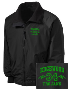 Edgewood High School Trojans Embroidered Tall Men's Challenger Jacket